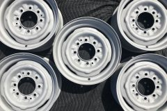 Media Blasted Rims - Set of 5