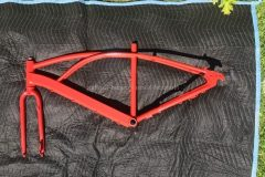 #14 Brake Light Red - Bike Frame & Fork