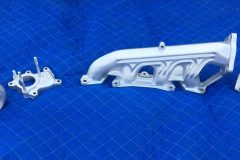 Ceramic Coat Glacier Silver Exhaust Lot 001