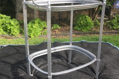 #49 Polished Aluminum - Serving Cart
