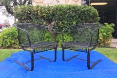 #01 Dull Black - Patio Chairs 008