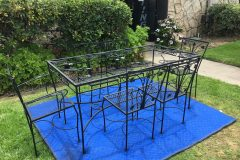 #01 Dull Black - Patio Set 002
