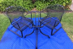 #01 Dull Black - Patio Table & Chairs 009