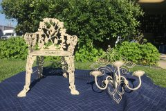 #118 Dry Desert Chair and Candle Holder 000