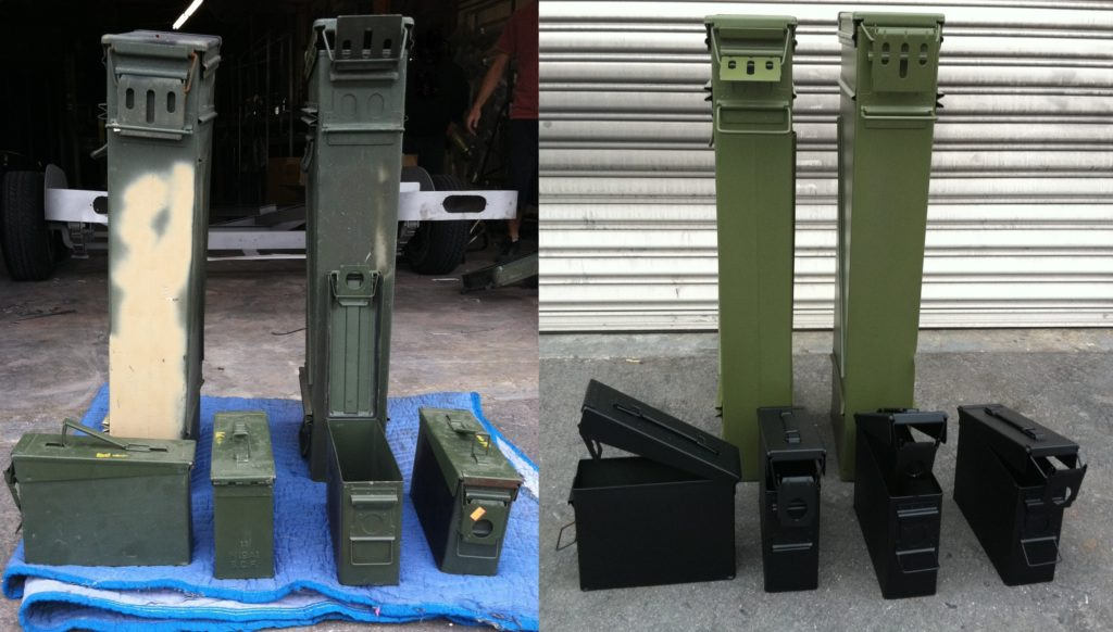 #19 Military Green & #03 House Black - Ammo Boxes
